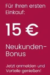 15€ Neukunden-Bonus von Universal