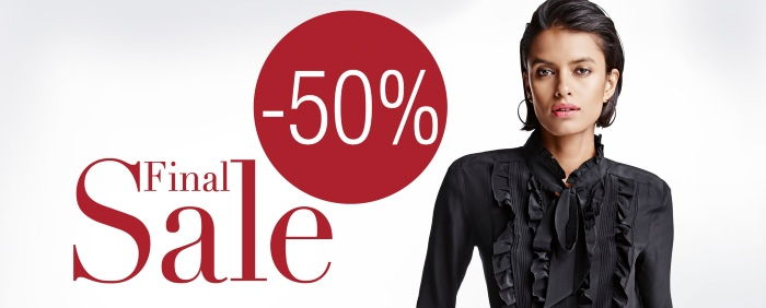 50% Final Sale bei Madeleine
