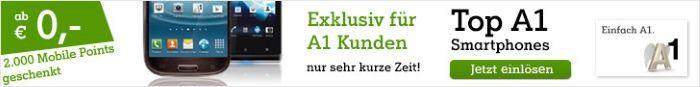 A1 Exklusiv für A1 Kunden Top A1 Smartphones