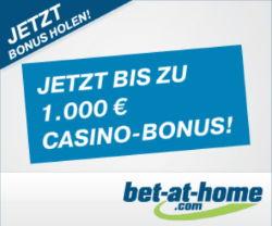 Bet at Home 1000€ Casino Bonus