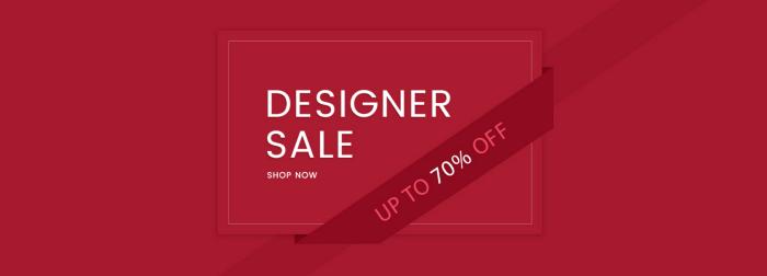 Designer Sale bei Cadenzza - Bis zu 70% Rabatt