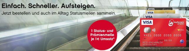 Einfach. Schneller. Aufsteigen. Airberlin Statusmeilen sammeln!