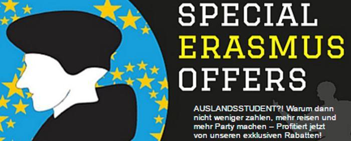 Hostelsclub: Special Ersamus Offers