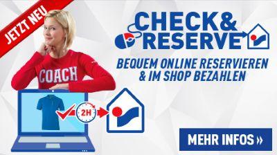 INTERSPORT Check & Reserve - Bequem online reservieren und im Shop bezahlen!