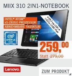 Mix 310 2in1-Notbook 20€ reduziert bei Cyberport