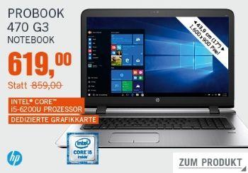 Probook 470 G3 um 240€ reduziert bei Cyberport
