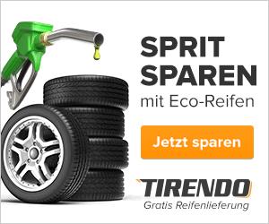 Sprit sparen mit Eco-Reifen von Tirendo