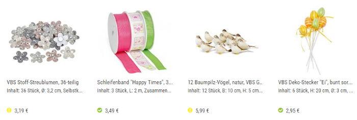 VBS Angebote ab 2.95€