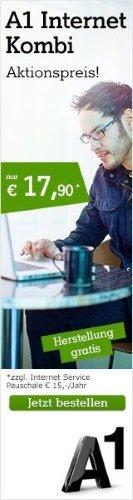 A1 Internet Kombi Aktionspreis für 17€