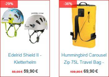 36% Rabatt auf Travel-Bag bei Vertical Extreme