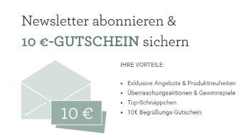 Hessnatur Newsletter abonnieren und 10€ sichern