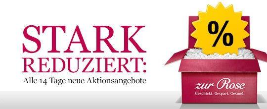 STARK REDUZIERT: Alle 14 Tage neue Aktionsangebote bei Zur Rose