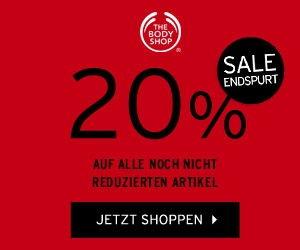 20% Gutschein von The Body Shop - SALE