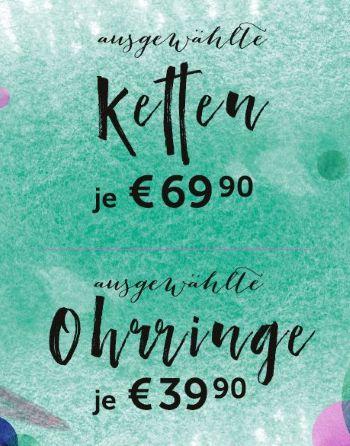CHRIST: Ketten je 69.90€ / Ohrringe je 39.90€