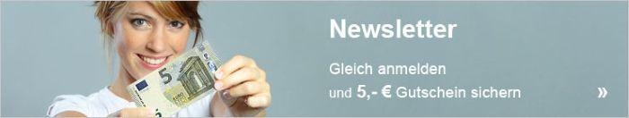 Glich für den Erwin Müller Newsletter anmelden und 5€ Gutschein sichern
