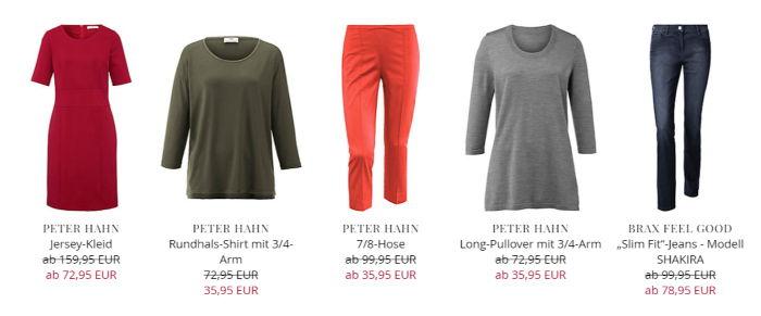PeterHahn: Kleid, Shirt, Hose, Pullover, Jeans u.a.
