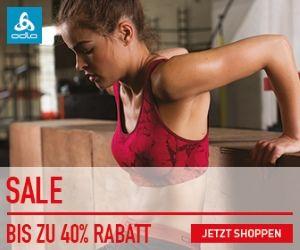 Sale: Bis zu 40% Rabatt auf Odlo Underwear