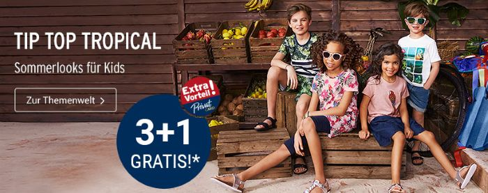Tip Top Tropical: 3+1 Gratis - Extra Vorteil!