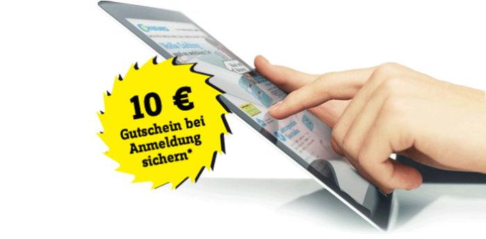 10€ Gutschein von Conrad bei Anmeldung sichern