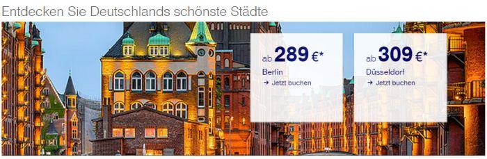 Berlin ab 289€ mit Lufthansa