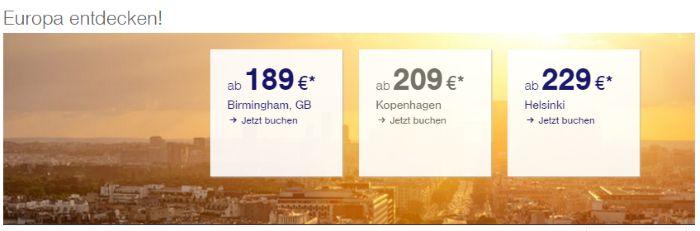 Birmingham ab 189€ mit Lufthansa