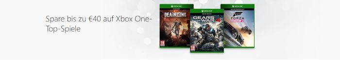 Bis zu 40€ auf Xbox One-Top-Spiele bei Microsoft sparen
