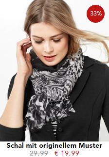33% Rabatt auf Schal mit originellem Muster von Gerry Weber