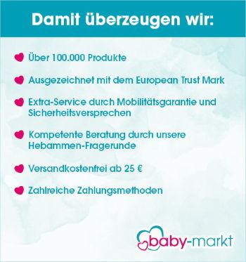 Baby-Markt - Damot überzeugen wir: u.a. versadnkostenfrei ab 25€!