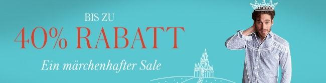 Bis zu 40% Rabatt - Ein märchenhafter Sale