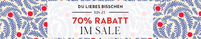 Bis zu 70% Rabatt im Sale