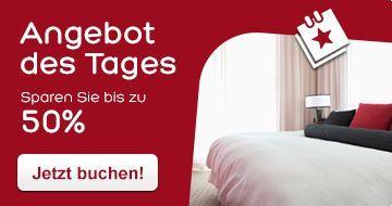 Hotels.com Angebot des Tages: Sparen Sie bis zu 50% prozent!