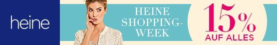 Heine Shopping-Week: 15% auf alles!