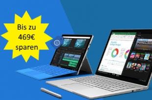 Bis zu 469€ bei Microsoft sparen