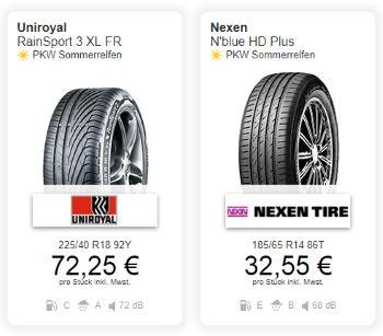 Reifendiscount.at - Reifen ab 32.55€