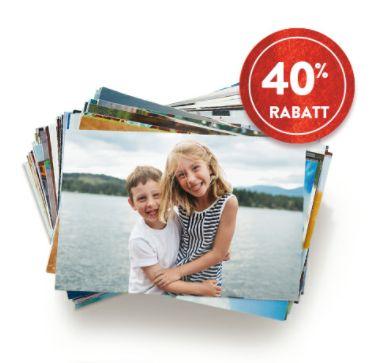 Snapfish - Bis zu 40% Rabatt auf Fotoabzüge!