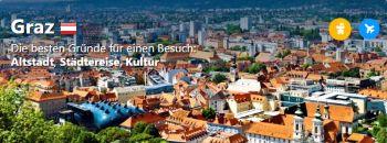 Booking.com Graz - Die besten Gründe für einen Besuch