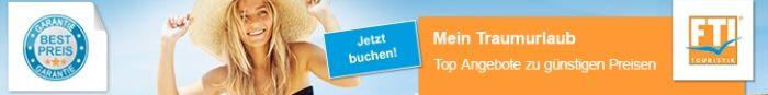 Jetzt Buchen - Top Angebote von FTI