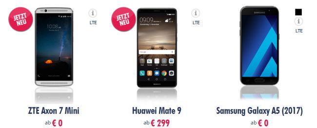Redbull Mobile - Handys ab 0€