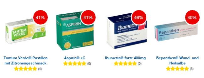 shop-apotheke: Bis zu 40% Rabatt auf Medikamente