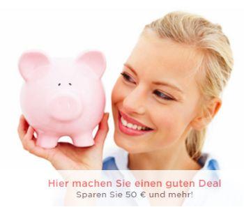 Hier machen Sie einen guten Deal! Sparen Sie 50€ und mehr bei QVC