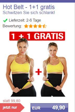 1 plus 1 Grats Hot Blet Angebot bei Mediashop