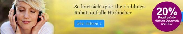 20€ Frühlingsrabatt bei eBook.de