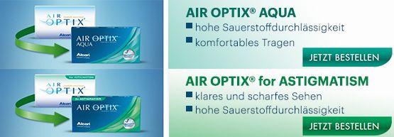 AIR OPTIX - Angebot von Linsenplatz