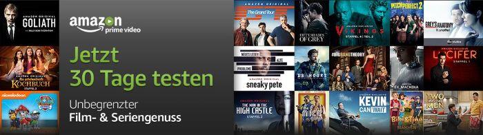 Amazon Prime Video jetzt 30 Tage testen