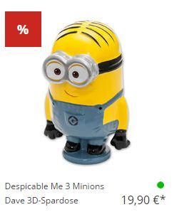 Close Up: Despicable Me 3 Minions für 19.99€