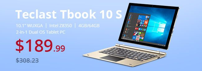 Everbuying Angebot: Teclast Tbook 10 S nur 190.99€