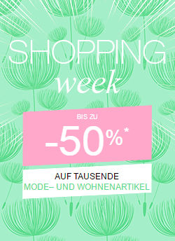 La Redoute Shopping-Week: Bis zu 50% Rabatt