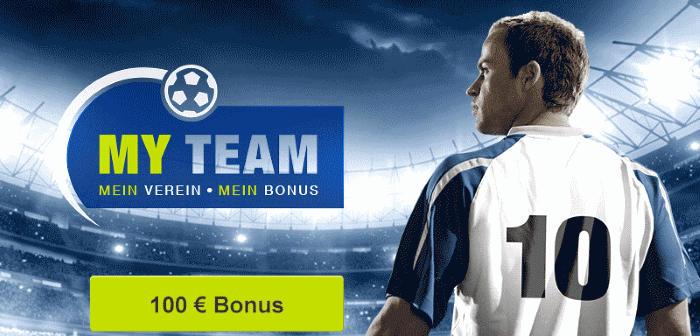mybet 100€ Bonus - MYTEAM