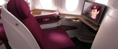 Comfort bei Qatar Airways