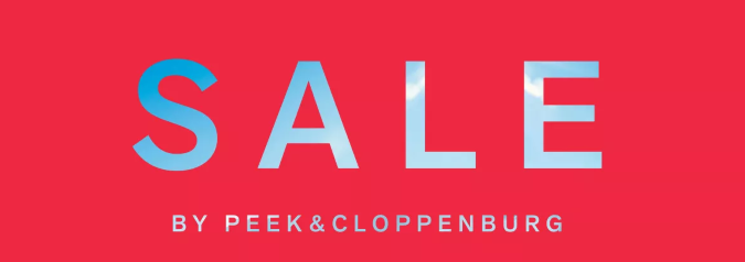 SALE by Peek & Cloppenburg